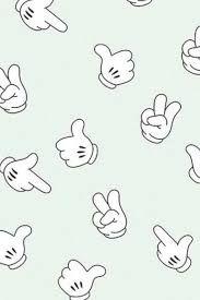 Resultado de imagen para mickey mouse hand wallpaper