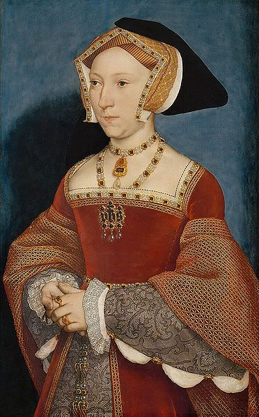 Jane Seymour (c. 1508–24 Oct 1537) was Queen of England 1536 to 1537 as the 3rd wife of King Henry VIII. Opinion is divided as to how Jane felt about being the new object of Henry's affections. Some see Jane's calm & gentle demeanor as evidence that she didn't really understand the position as political pawn she was playing for her family. Others see it as a mask for her fear. Seeing how Henry's two previous Queens had been treated once they fell from favour, Jane probably had some…