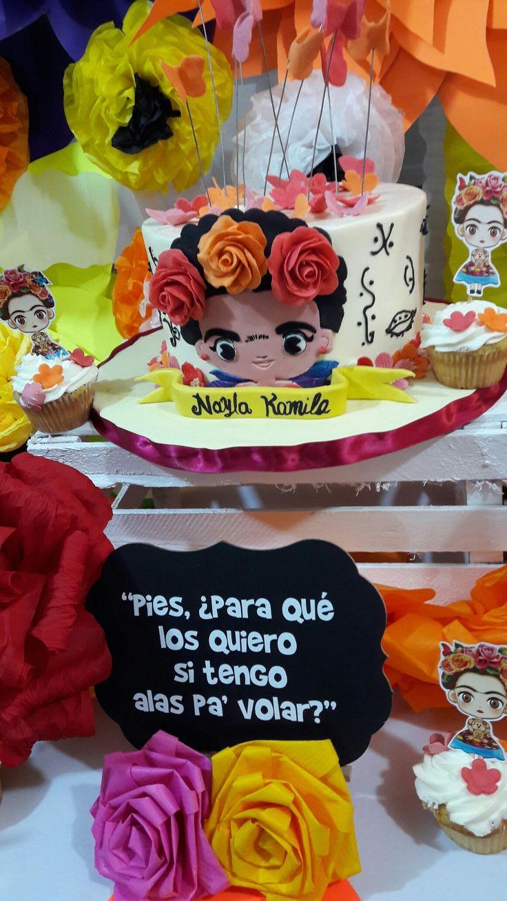 Fiesta table decorations ideas - Fiesta Frida Kahlo
