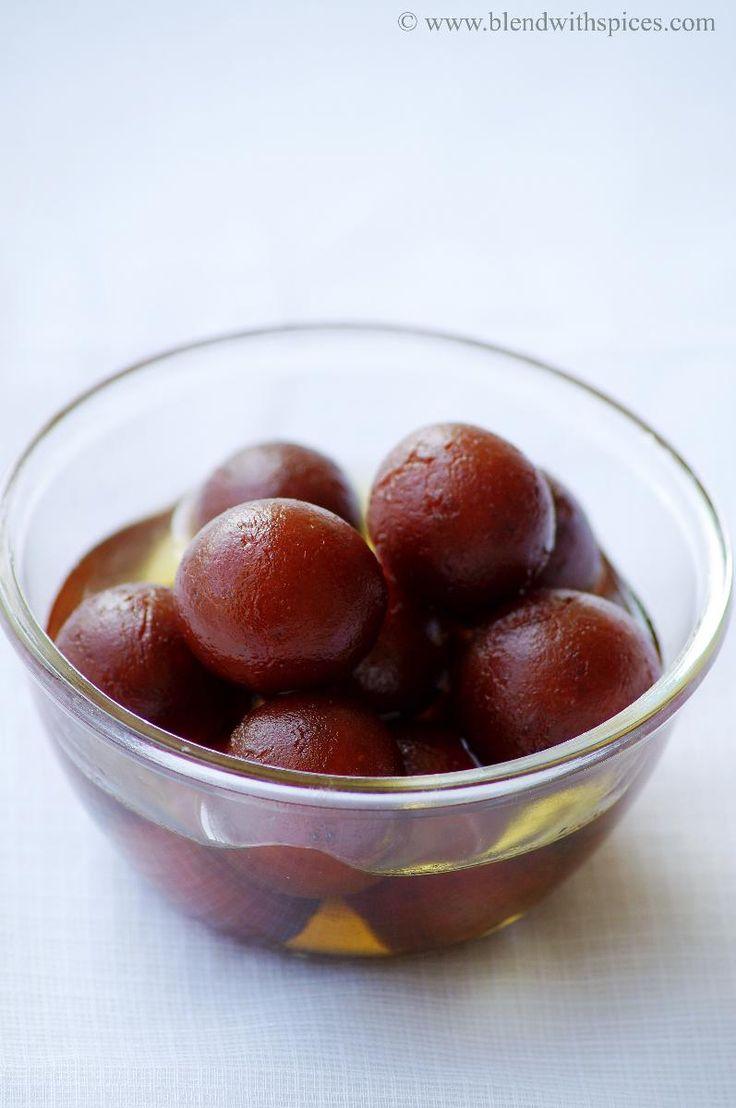 Gulab Jamun Recipe - How to make Gulab Jamun with Khoya / Kova - Step by Step Recipe - Diwali Sweets Recipes | Indian Cuisine