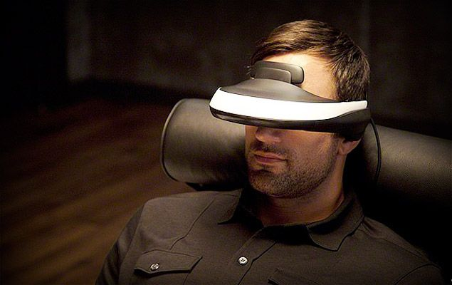 Sony's Head Mounted Display - yes please!