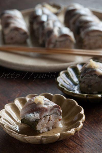 鰯の酢〆の棒寿司 by ゆりりさん | レシピブログ - 料理ブログのレシピ ...