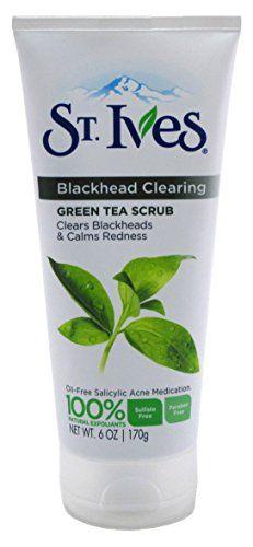 St Ives Scrub Green Tea Blackhead Clearing 6oz