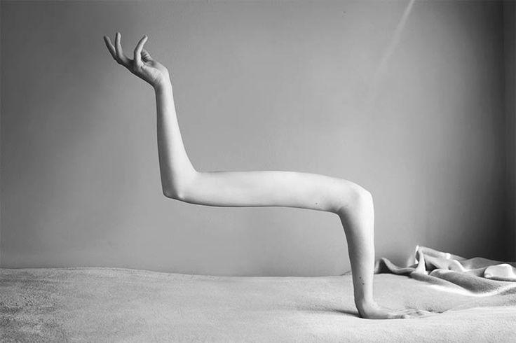 Anatomie surréaliste – Les photographies étranges et dérangeantes d'Ángela Burón