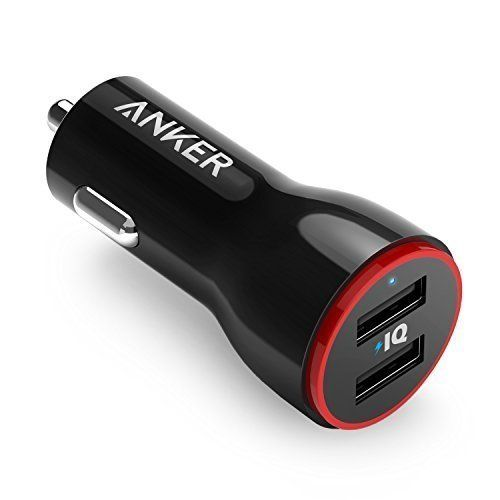#Anker #24W #Dual #USB #Car #Charger, #PowerDrive #2 for #iPhone #7 / #6s / Plus, #iPad #Pro / #Air #2 / #mini, #Galaxy #S7 / #S6 / #Edge / Plus, #Note #5 / #4, #LG, #Nexus, #HTC and More The #Anker Advantage: Join the 10 million+ powered by America's leading #USB charging brand. Advanced Charging Technology: PowerIQ and VoltageBoost combine to provide the fastest possible charge up to #4.8 amps or #2.#4 amps per port. (Does not support Qualcomm Quick Charge). Certified Safe: