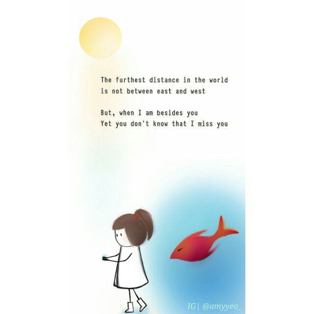 Love fiercely in silence