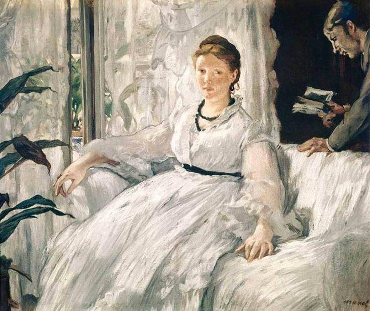 La lecture (La lettura), Édouard Manet, Musée d'Orsay, Parigi