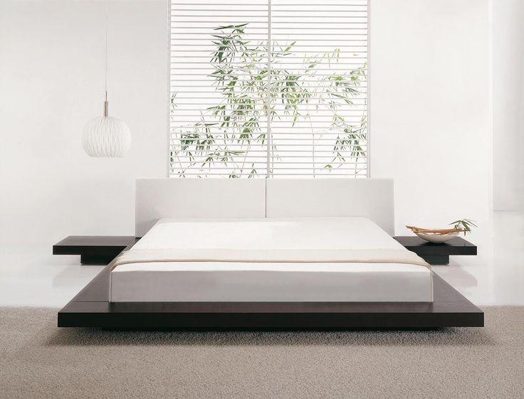 Bett Weiß Modern