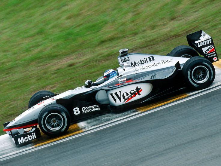 Mika Hakinnen - McLaren MP4-13 (Mercedes) - 1998