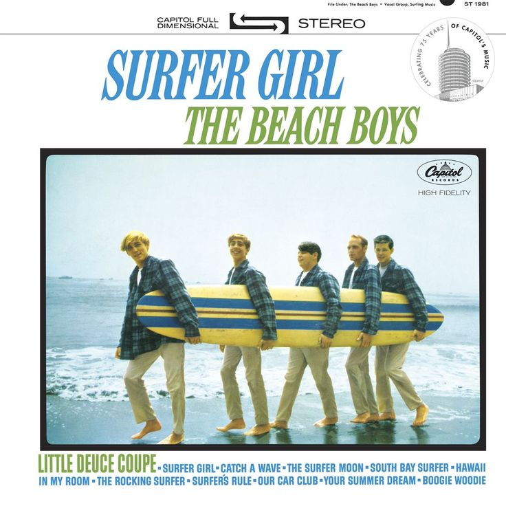 "The Beach Boys ""Surfer Girl"" - Crate and Barrel"