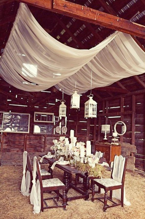draped cloth ceiling treatment - Google Search