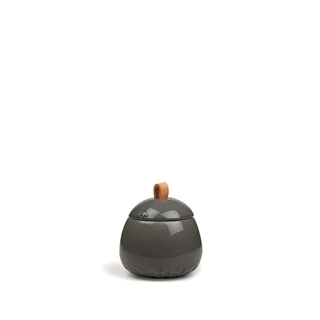 Mellibi Storage Jar Anthracite Small