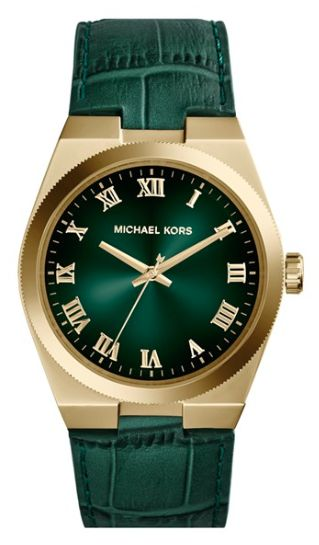 #BaylorProud leather strap watch from Michael Kors
