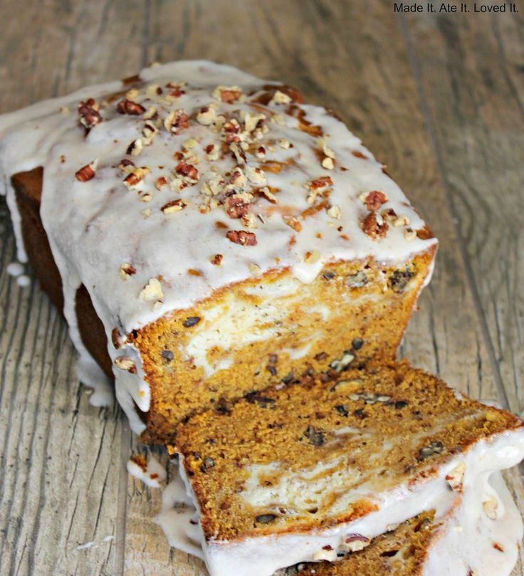 Made It. Ate It. Loved It.: Pumpkin Cream Cheese Bread