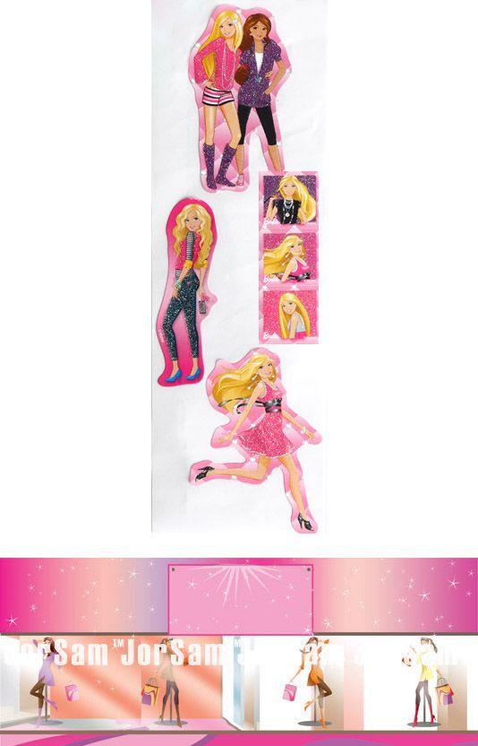 Barbie D.I.Y. licensed sticker money box