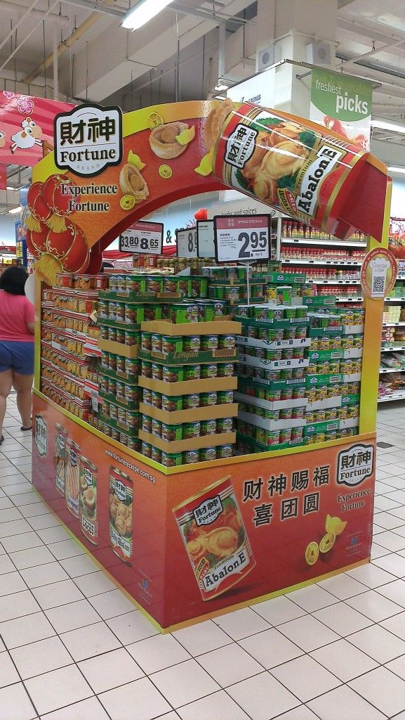 Fortune Abalone New Year Product Display