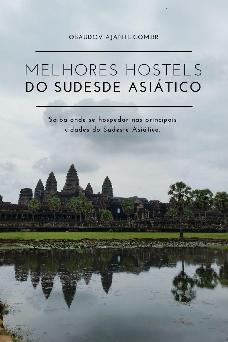 Saiba onde se hospedar no Sudeste Asiático, encontre os melhores hostels na Tailândia, Camboja, Vietnã, Laos, Indonésia, Malásia e Singapura.   Está na hora de tirar o seu roteiro de viagem para o Sudeste Asiático do papel