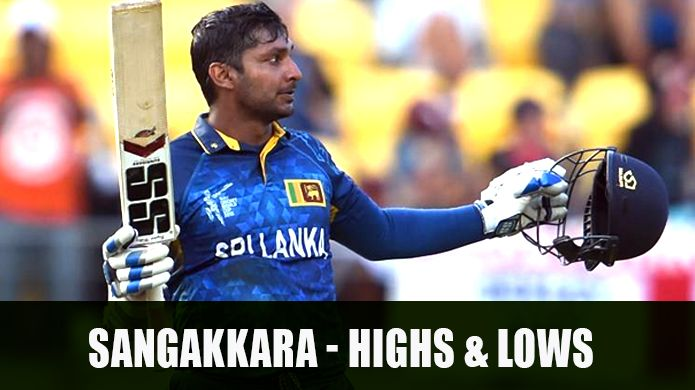 The highs and lows of Kumar Sangakkara