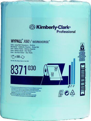 Lavete profesionale reutilizabile WYPALL X60, KC-8371 ideale in industria usoara pentru indepartarea uleiurilor fine si a grasimilor.
