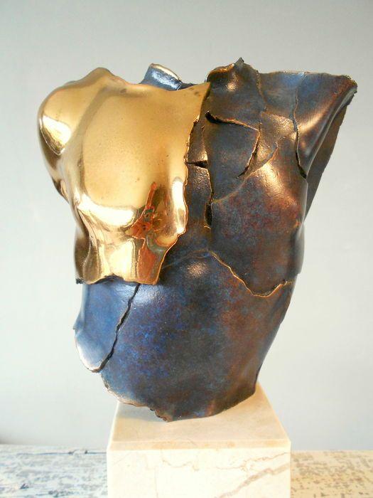 Online veilinghuis Catawiki: Equipo Borghese - torso - gesigneerd sculptuur - nummer 13/35