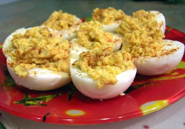 Cajun Deviled Eggs from Food.com: Spicy Deviled eggsFaye's collection from family friend