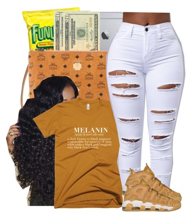 """FINESSE x BRUNO MARS"" by juske ❤ liked on Polyvore featuring NIKE"