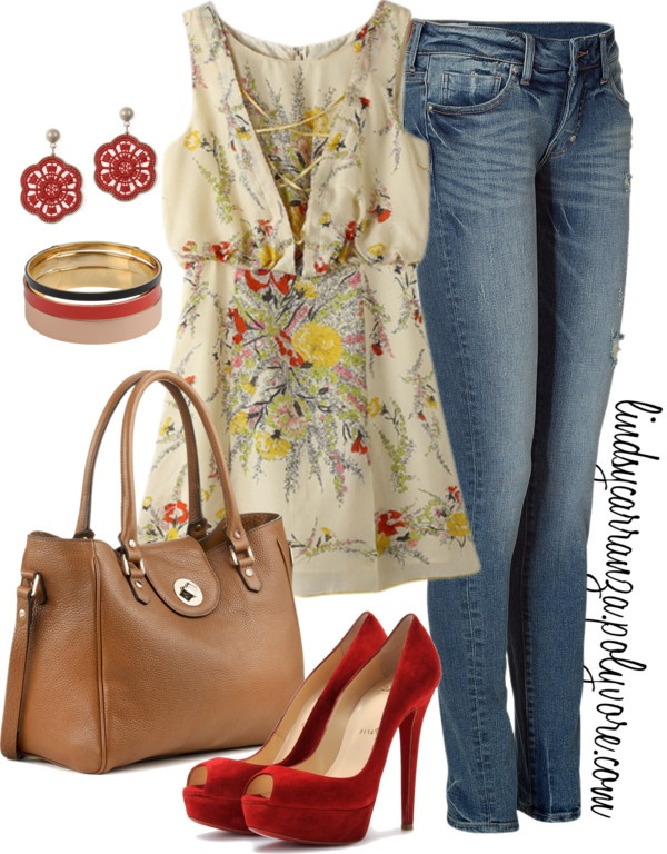 love the flowers: Woman Summer, Floral Outfits, Red Shoes, Summer Style, Buy Woman, Ballet Flats, Spring Outfits, Summer Clothing, Style Fashion