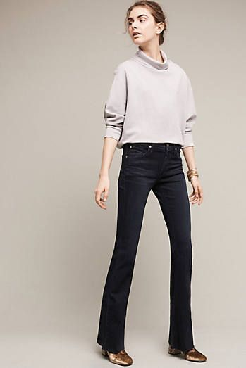 James Jeans Bella Low-Rise Petite Flare Jeans