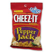 Cheez-It Pepper jack - 3 oz. Bag - 12 ct. - Sam's Club