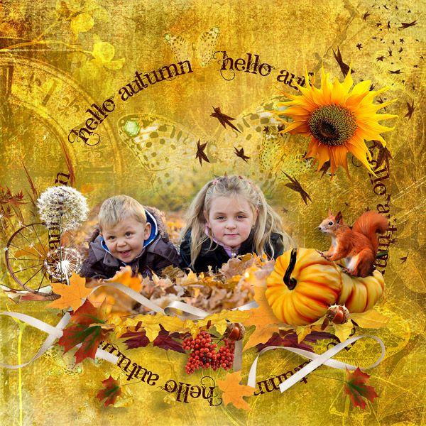 Fall Leaves Fall by Black Lady designs