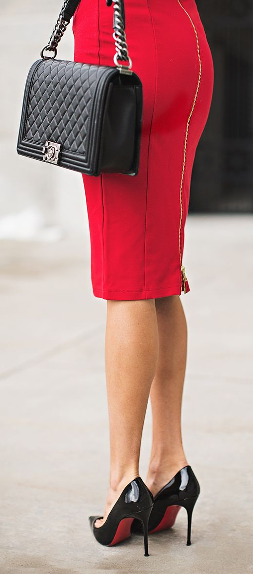 Classy in red