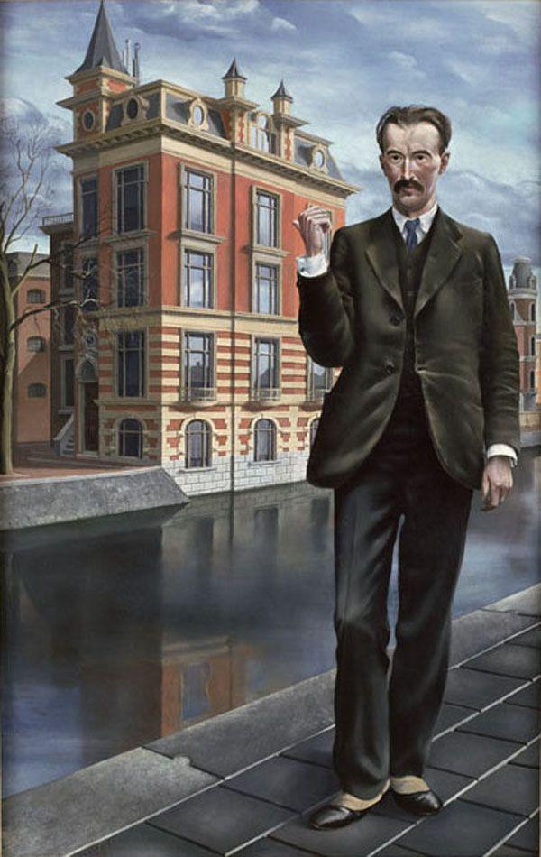 """""""Portret van de schilder Charles Roelofsz (Portrait of the Painter Charles Roelofsz)"""", 1932 / Carel Willink (1900-1983) / Stedelijk Museum, Amsterdam, The Netherlands"""