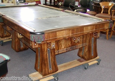 Pin by joann nicholson hinton on mixer of old and new for 10 ft billiard table