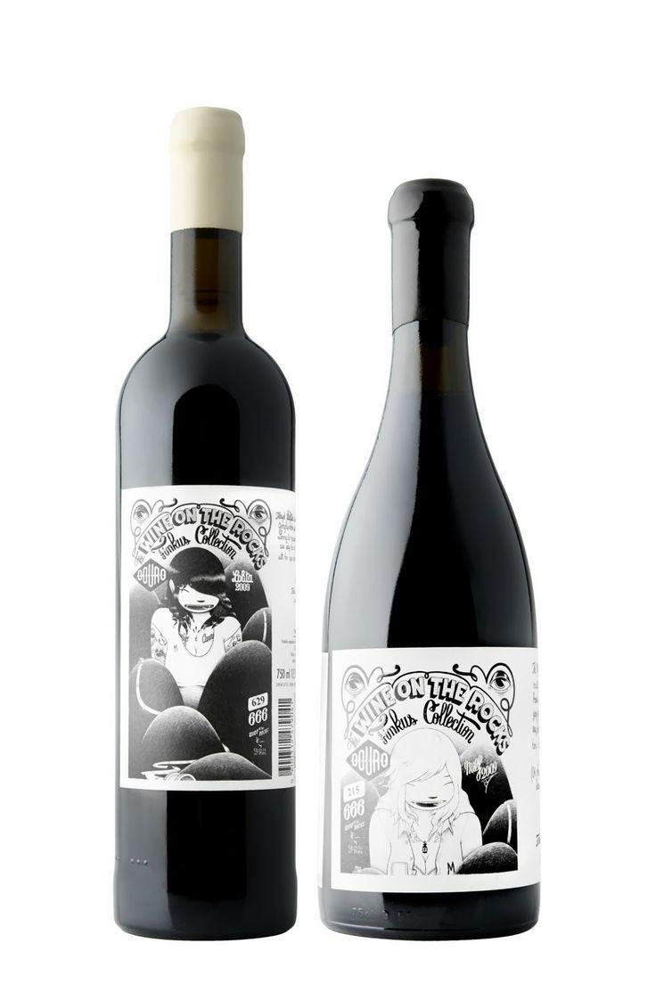 Quinta do Pôpa lança 2.ª edição de 'Wine on the Rocks Finkus Collection - Lolita & Milf' | marketing de vinhos