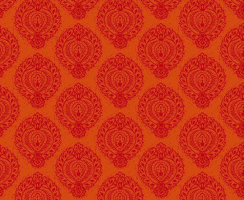 Lino </br> Bright Magenta on Orange