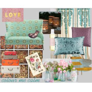 """Colour Me Calm"" by mandyjanem on Polyvore"