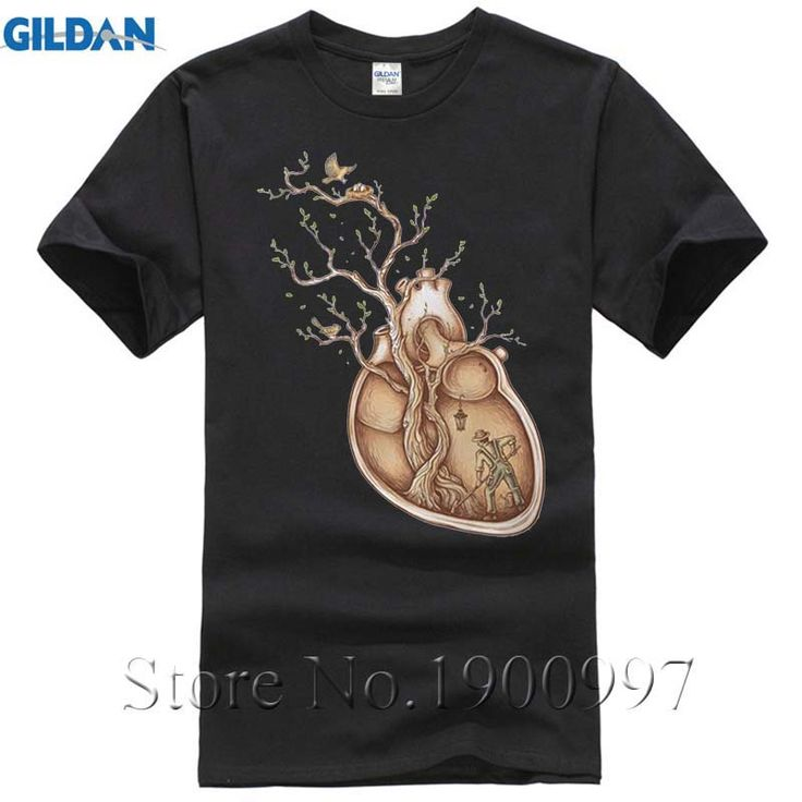 Heart of Tree Funny Tops Tees Cotton O Neck Causal t-shirt Homme Men T shirts For Young Men Tide Gift Us/Eur Size tom brady #Affiliate