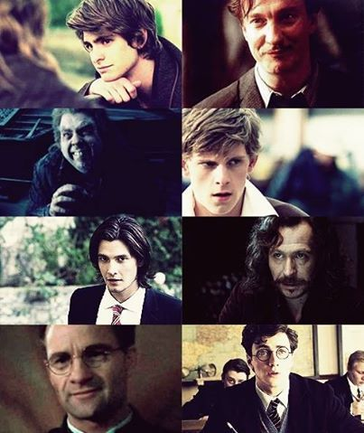 the marauders (well Remus went down hill)