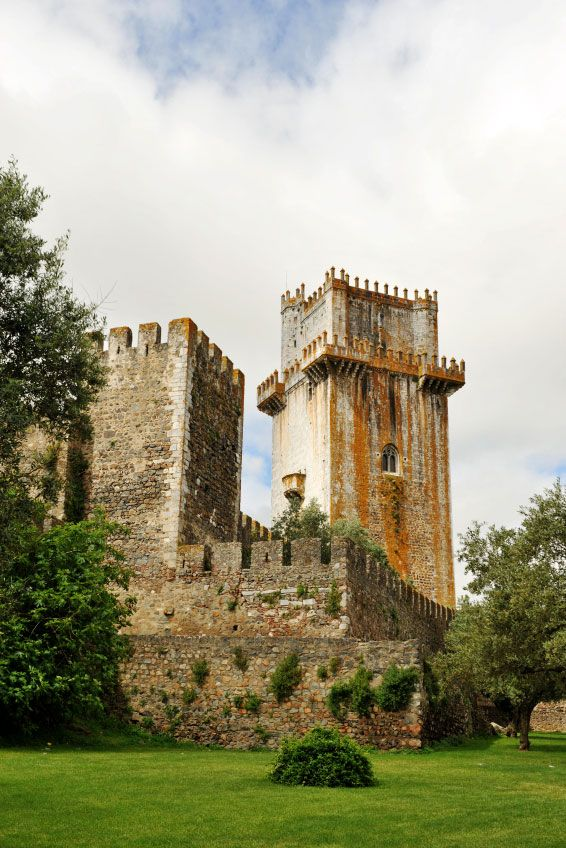 Quando morávamos em Beja, o passeio obrigatório era o castelo!