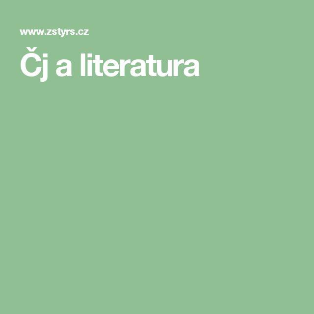 Čj a literatura