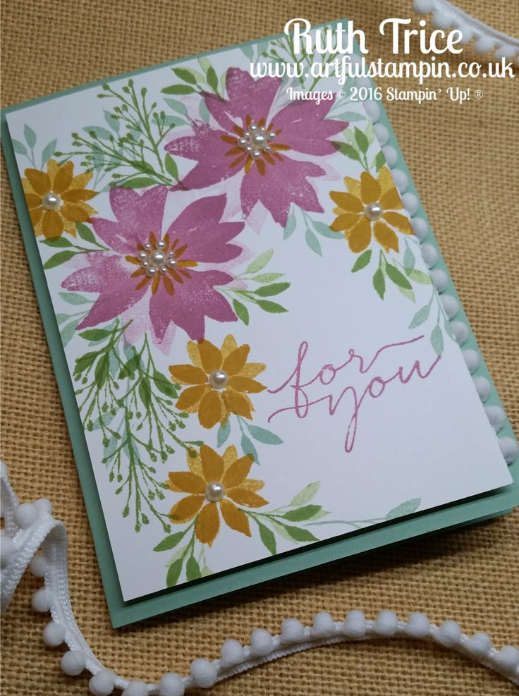 Artful Stampin' Uk Independent Stampin' Up! demonstrator - Ruth Trice: {Hello! Annual Catalogue 2016-2017 Blog Hop - Week 5}