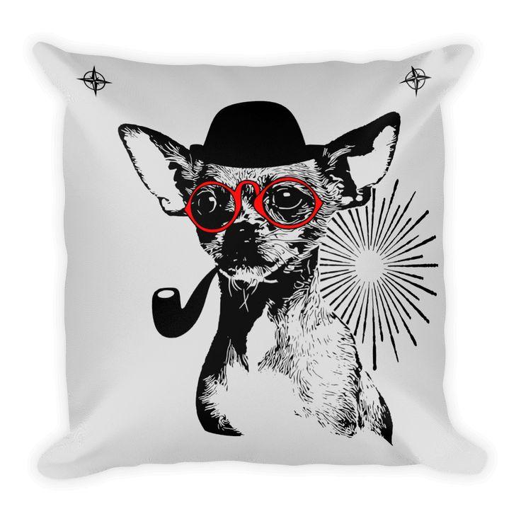 Chihuahua Gentleman - Decorative Pillow