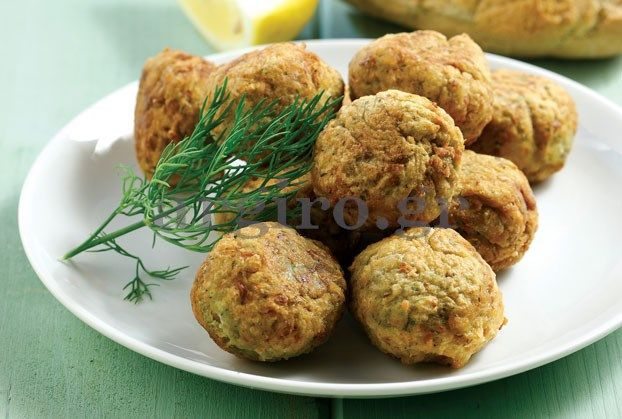 "Fish roe balls, another delicious appetizer for ""tsipouro"", ""raki"", wine or beer."