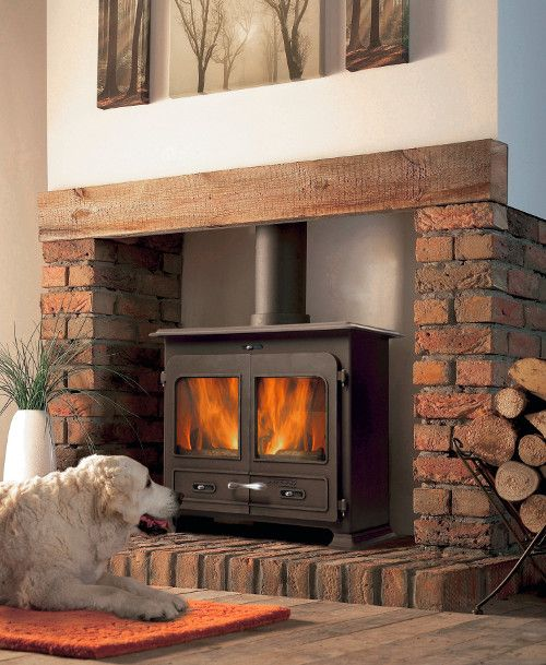 The Portway 3 Traditional Multifuel Stove http://www.periodideas.com/portway-3-traditional-multifuel-stove