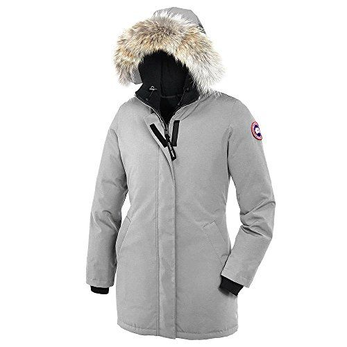 Canada Goose Womens Victoria Parka Silver Birch XXSmall * Check out the image by visiting the link. (Note:Amazon affiliate link)