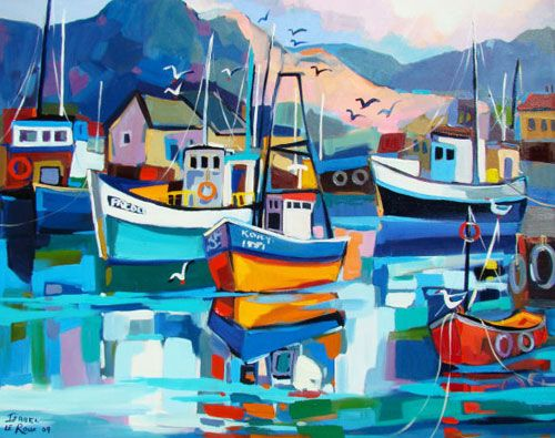 Isabel le Roux - Boats Gallery
