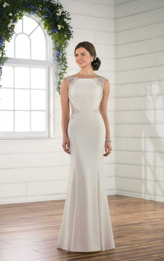 b344d05ca1c D2492 Sheath Vintage Wedding Dress by Essense of Australia Buy Wedding Dress  Online