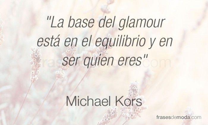 Frase de moda de Michael Kors