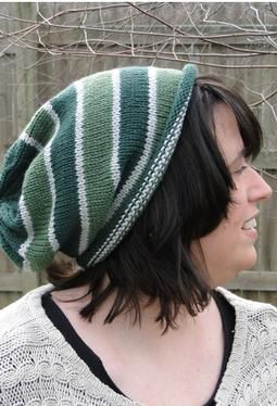 slouchy hat. yes.