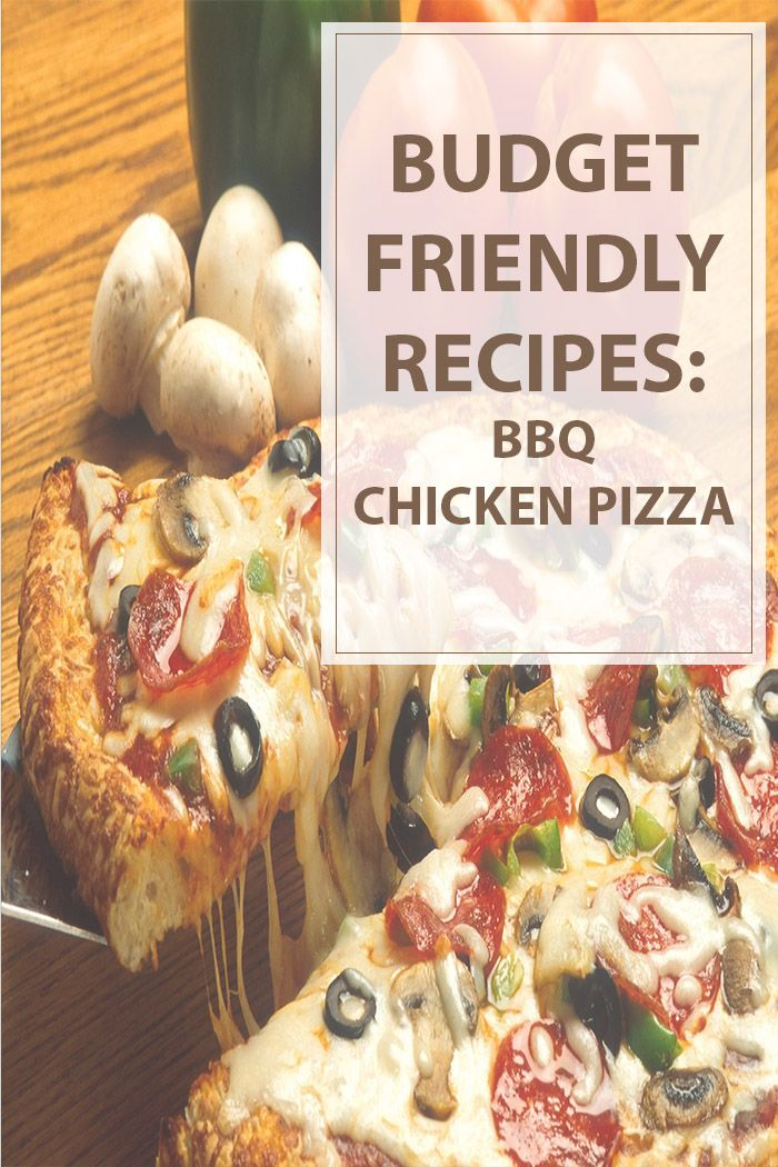 Create a budget friendly bbq chicken pizza recipe for the whole family. Use this recipes for party's and birthdays to spend less money for the food. #cooking #recipe #food #health | www.housewiveshobbies.com |